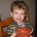 Kid Fermented Salsa!