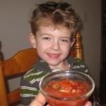 Kid Fermented Salsa!
